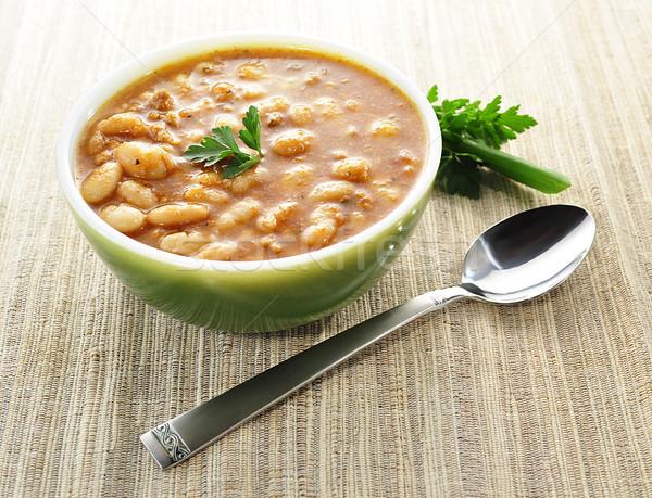 bean soup Stock photo © saddako2