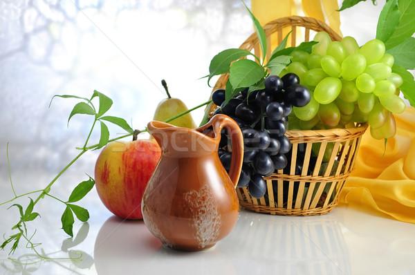 fruits and pitcher Stock photo © saddako2