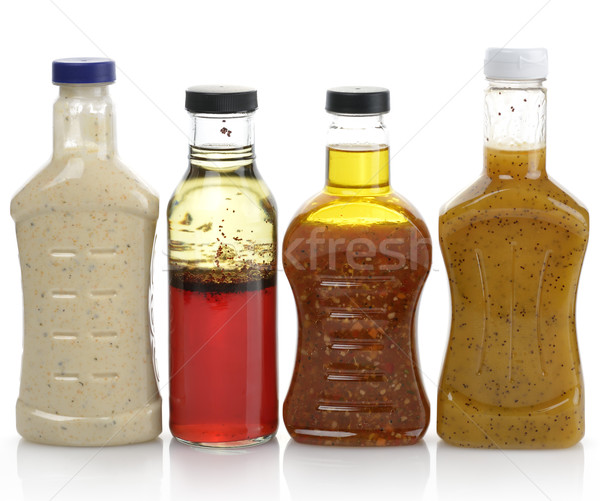 Ensalada vinagreta botellas alimentos botella Foto stock © saddako2