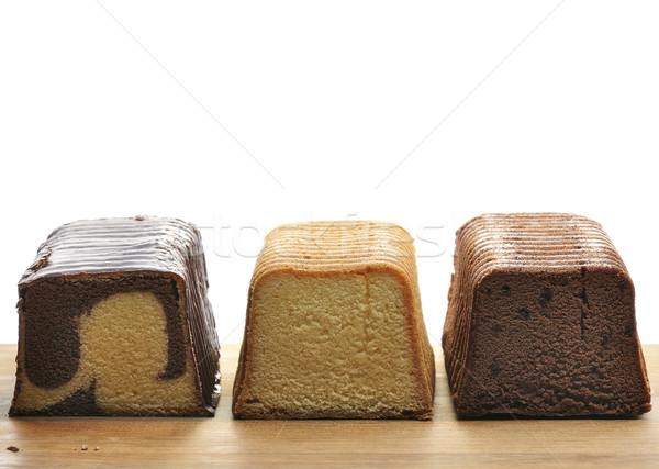 Stockfoto: Pond · gebak · cake · zoete
