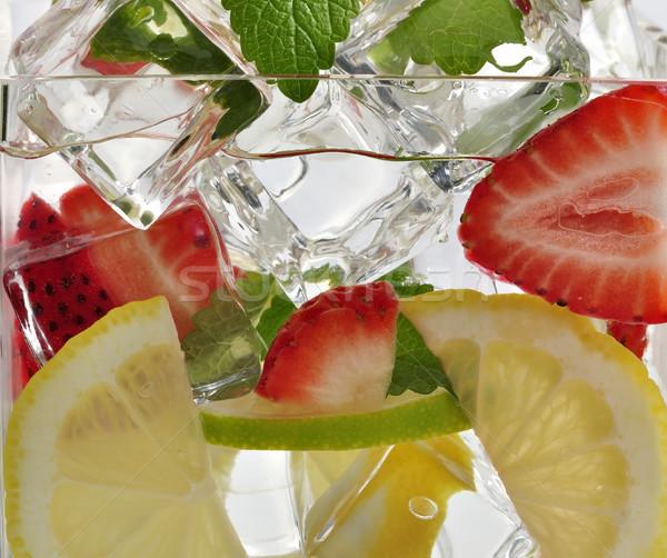 Bebida fria beber frutas gelo fruto Foto stock © saddako2