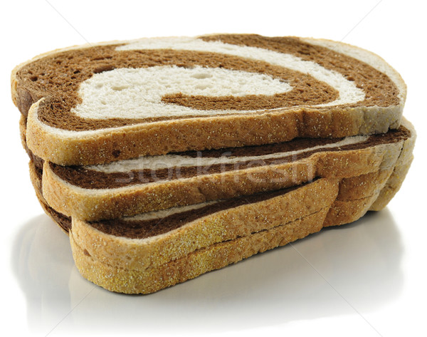 Segale turbinio pane bianco alimentare fresche Foto d'archivio © saddako2