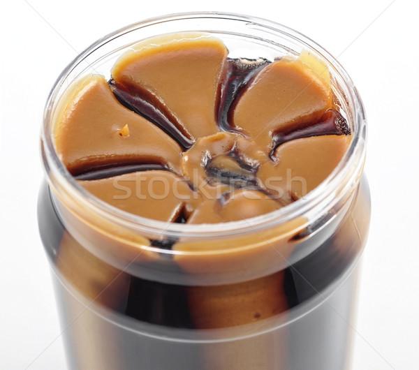 Burro di arachidi gelatina alimentare colazione mangiare Foto d'archivio © saddako2
