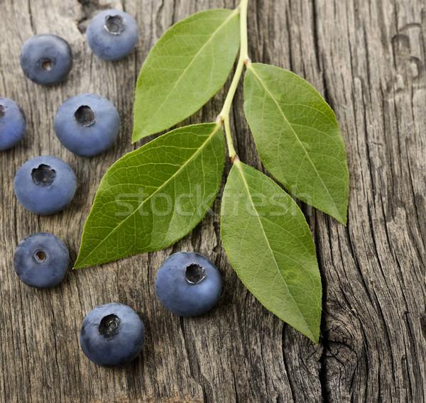 Fresh Bilberries Stock photo © saddako2
