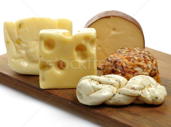 Fromages assortiment bois produit Photo stock © saddako2