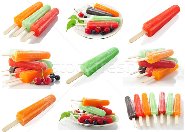 assortment of ice cream pops Stock photo © saddako2