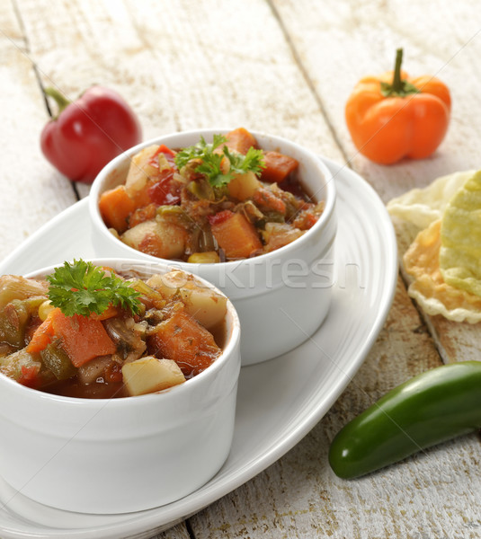 Vegetable Soup Stock photo © saddako2