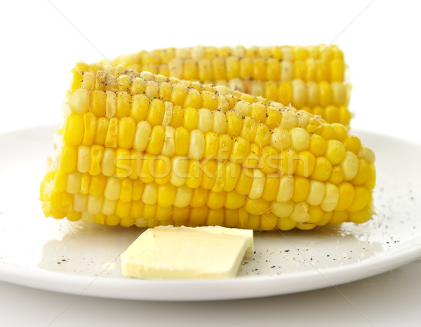 Boiled Sweet Corn  Stock photo © saddako2