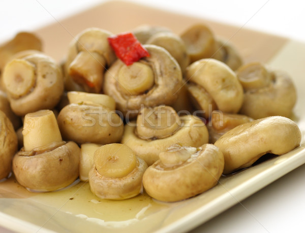 pickled mushrooms Stock photo © saddako2