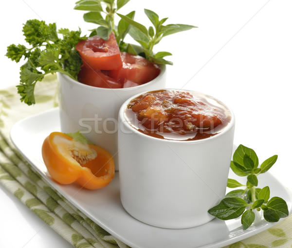Fresh Salsa Stock photo © saddako2