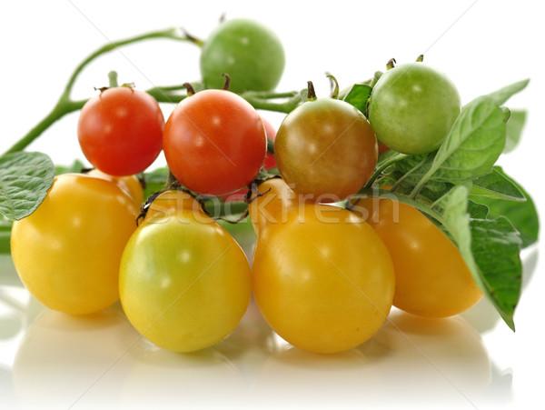yellow and red small tomatoes  Stock photo © saddako2
