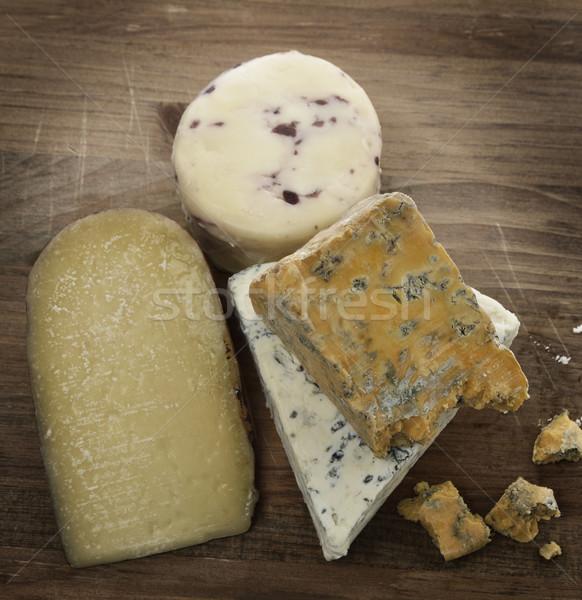 Gourmet Cheese Stock photo © saddako2