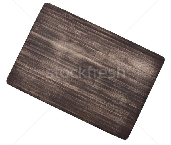 Wooden Cutting Board Stock photo © saddako2