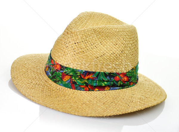 straw hat Stock photo © saddako2
