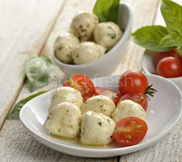 Mozzarella Cheese Stock photo © saddako2
