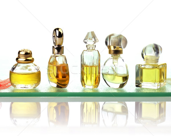 Stock photo: perfume assortment