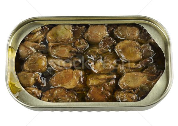 Canned Smoked Oysters Stock photo © saddako2