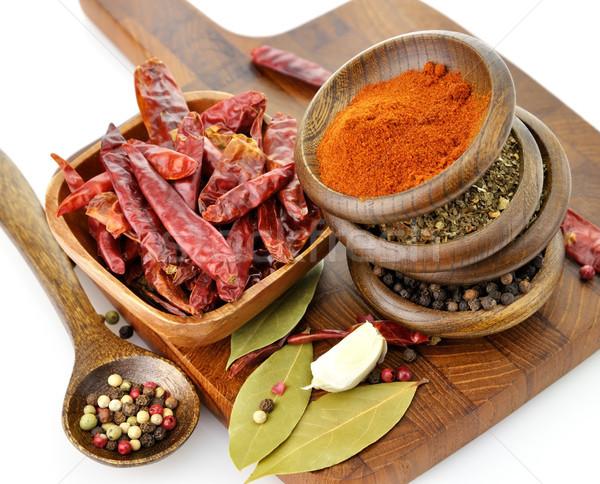 Spices Assortment Stock photo © saddako2