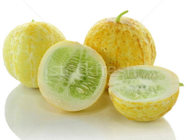 yellow cucumbers Stock photo © saddako2