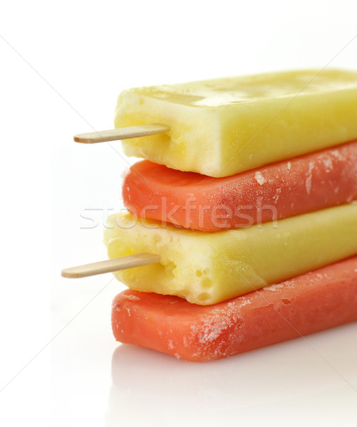 ice cream pops Stock photo © saddako2