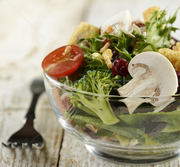 Fresh Salad Bowl Stock photo © saddako2