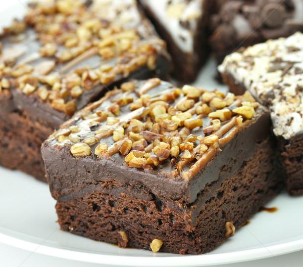 brownies close up Stock photo © saddako2