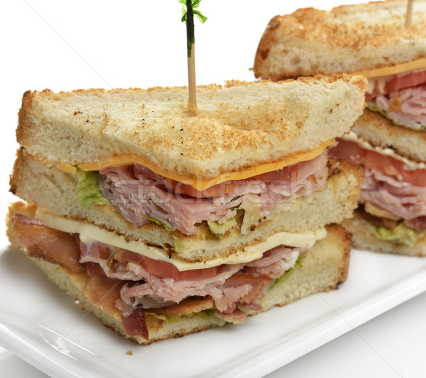 Club Sandwich Stock photo © saddako2