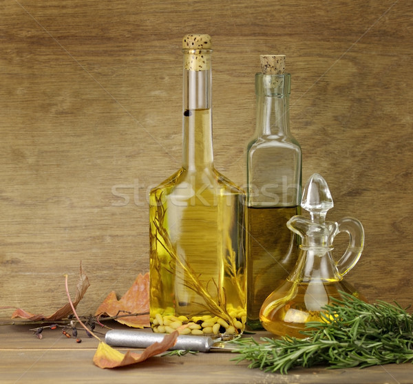 Cooking Oil And Spices Stock photo © saddako2
