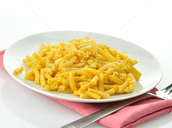 макароны сыра пластина цвета макроса Сток-фото © saddako2