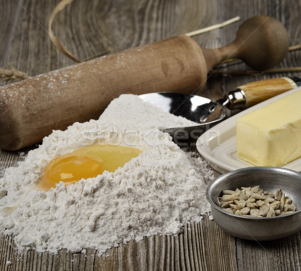 Baking Ingredients  Stock photo © saddako2