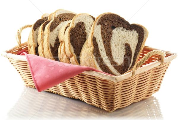 ライ麦 渦 パン 食品 新鮮な ストックフォト © saddako2