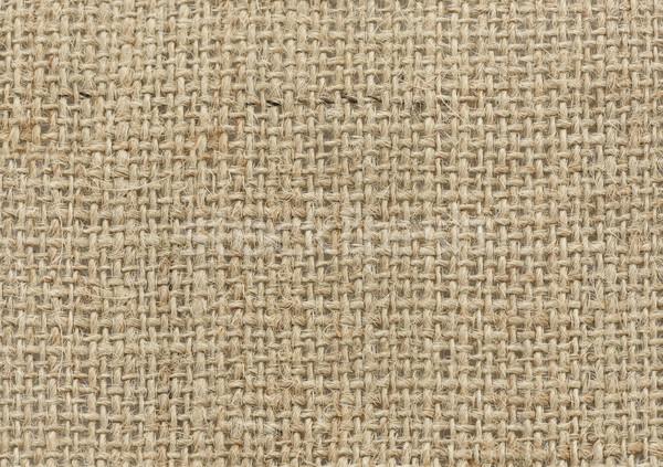 Természetes vászon textúra háttér vászon makró Stock fotó © saddako2
