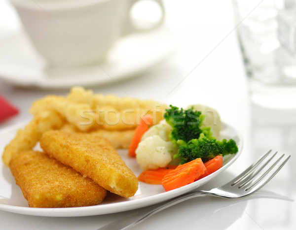 fish fillets dinner  Stock photo © saddako2