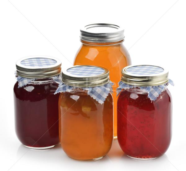 Homemade Marmalade,Jam And Honey Stock photo © saddako2