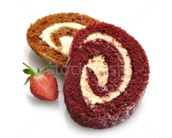Stock photo:  Roll Cakes