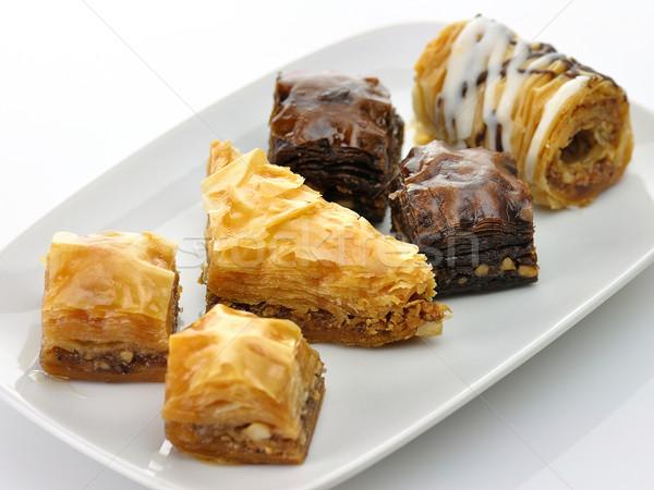 Friss válogatás csokoládé sötét ünneplés arab Stock fotó © saddako2