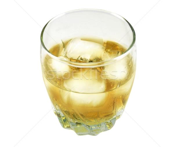Bevanda fredda vetro bianco sfondo bar irish Foto d'archivio © saddako2
