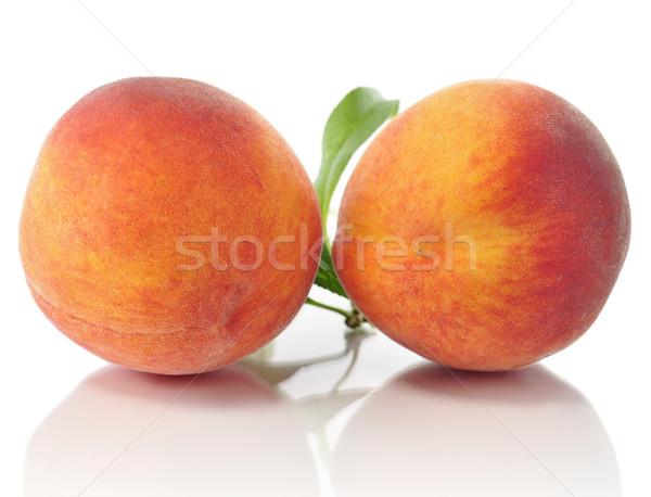 peaches Stock photo © saddako2