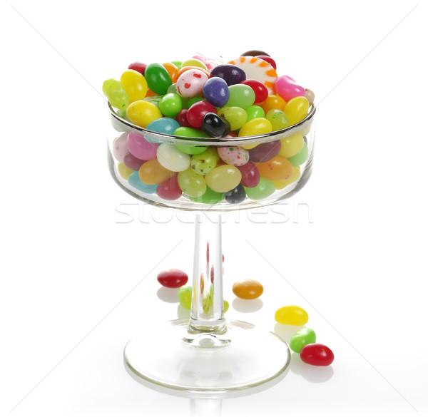 Vetro candy dessert dolci Foto d'archivio © saddako2