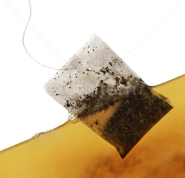 Tea Bag In Water Stock photo © saddako2