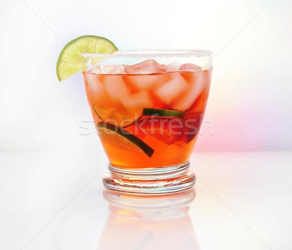 Bebida fria frio fruto beber limão bar Foto stock © saddako2
