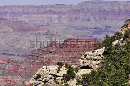 Grand Canyon view Arizona USA natura viaggio Foto d'archivio © saddako2