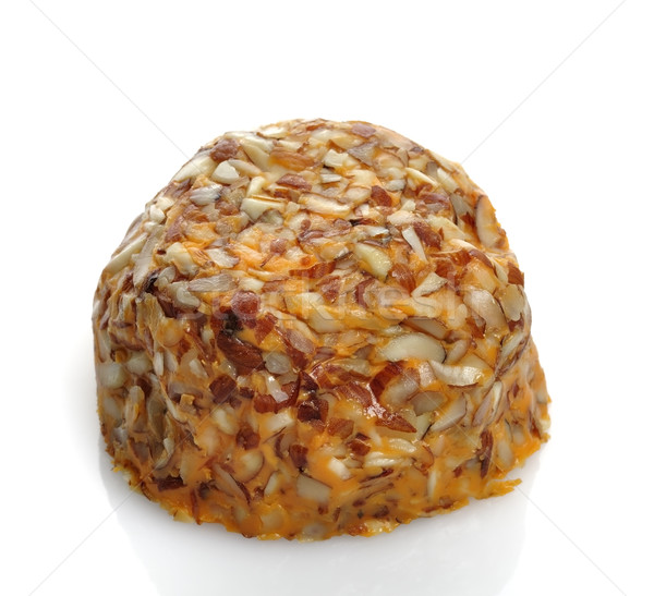 Cheddar kaas witte achtergrond Stockfoto © saddako2