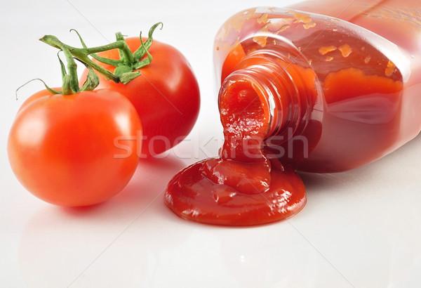 томатный кетчуп свежие помидоров здоровья Сток-фото © saddako2