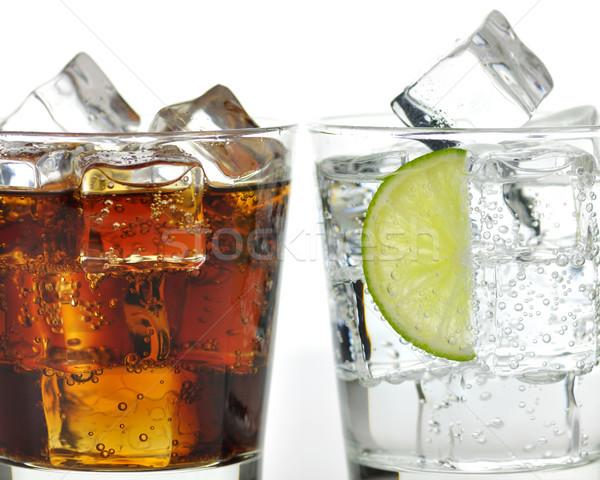 The sweet cooled drinks with ice  Stock photo © saddako2