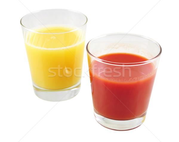 tomato and orange juice Stock photo © saddako2