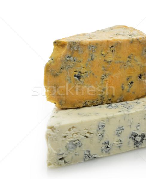 グルメ チーズ 白 黄色 白地 ストックフォト © saddako2