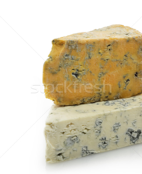 Wedges of Gourmet Cheese Stock photo © saddako2