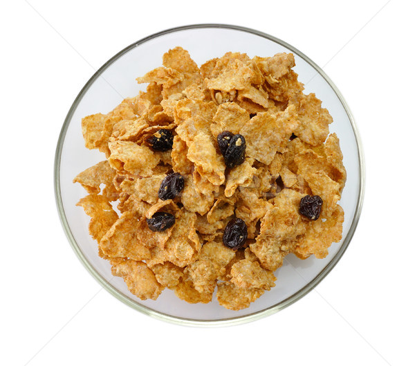 bran and raisin cereal Stock photo © saddako2