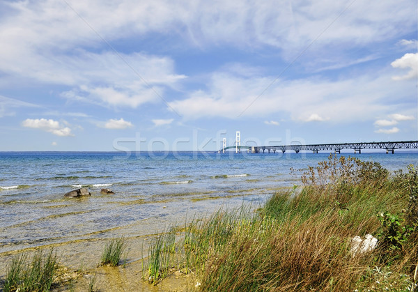 Lake shore of Mackinac  Stock photo © saddako2